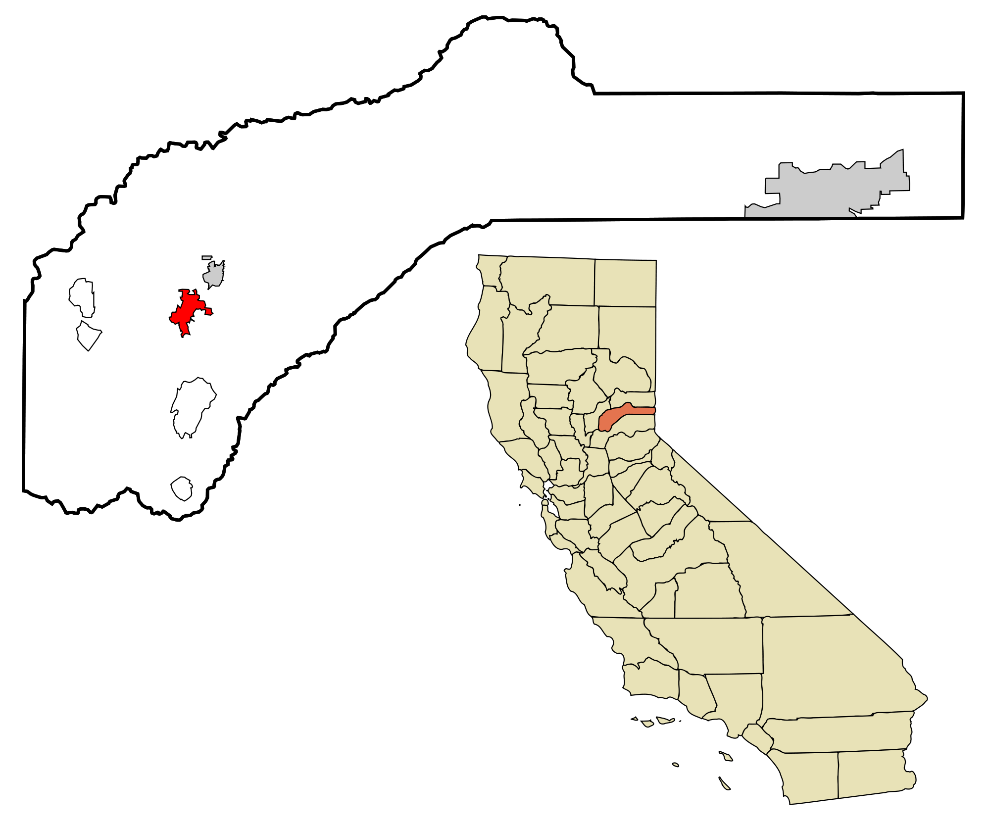 California svg shape. File nevada county incorporated