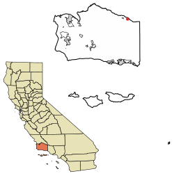 California svg word. Cuyama wikipedia location of