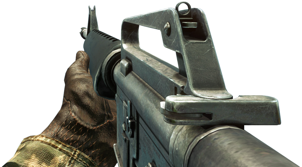 call of duty 4 m16 png