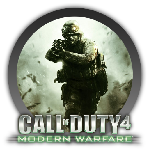 Call of duty 4 png. Modern warfare icon by