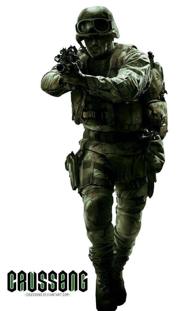 Call of duty 4 png. Modern warfare remastered render