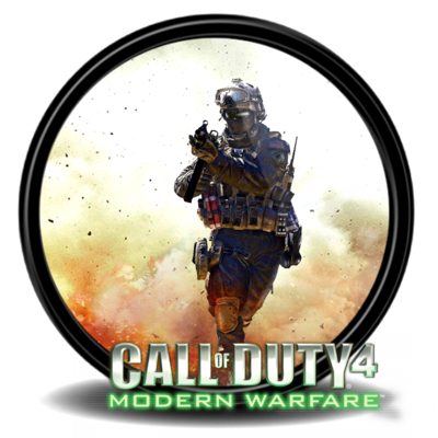 Call of duty 4 png. Modern warfare by edook