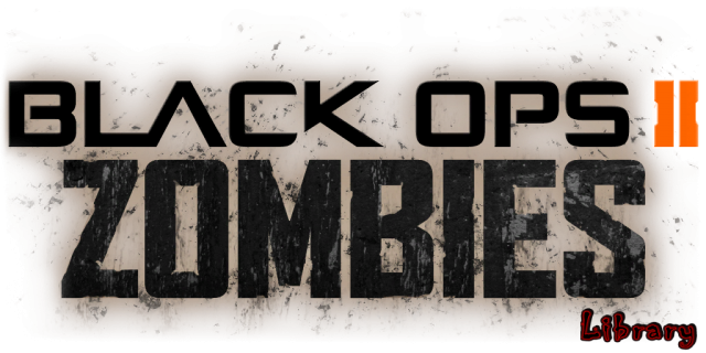 Call of duty black ops 2 logo png. Ii zombies library overview