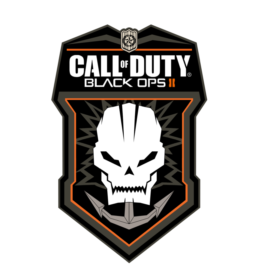 Call of duty black ops 2 logo png. Official render hd hr
