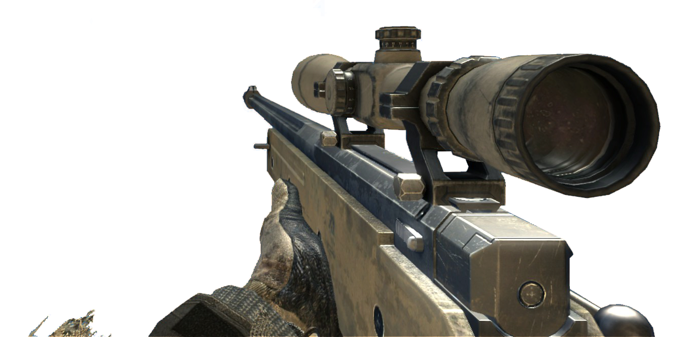 Call of duty sniper rifle png. Image l a mw