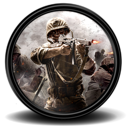 Call of duty world at war png. Icon mega games pack