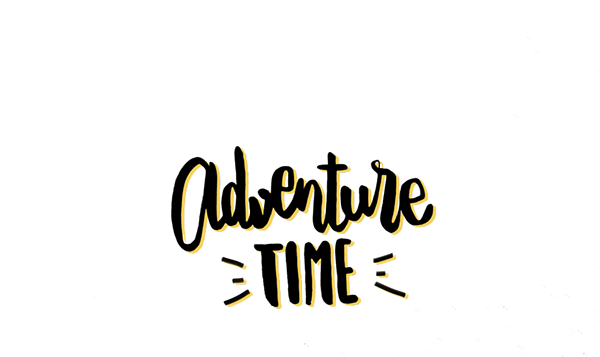 Calligraphy quotes png. Adventure time lettering on