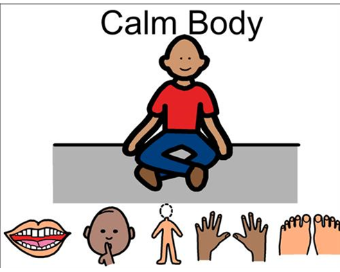 Calm clipart positive body image. Poster