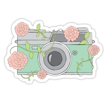 Camera clipart floral. Best photography inspiration