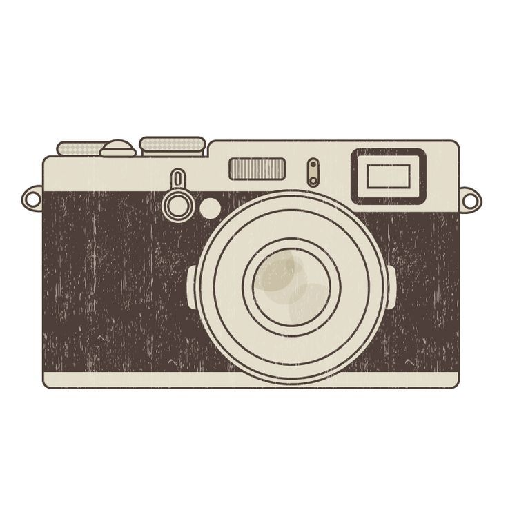 Camera clipart retro camera. Free clip art printables