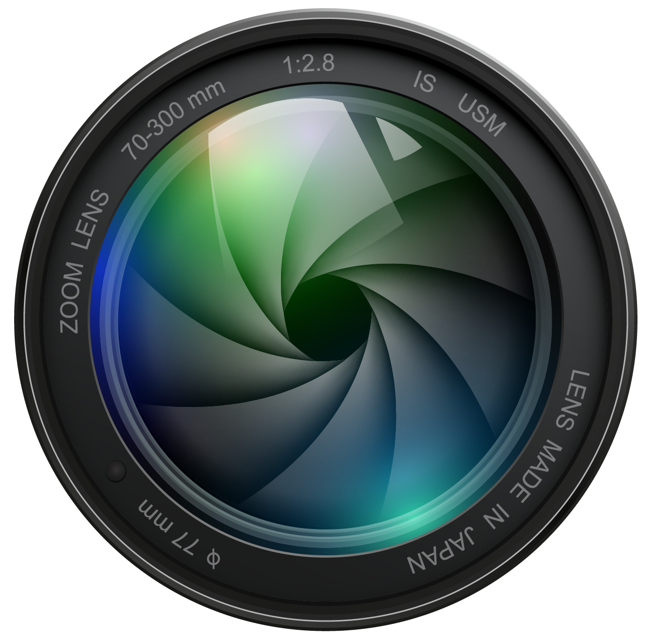 Camara vector digital camera. Photography logo png ca