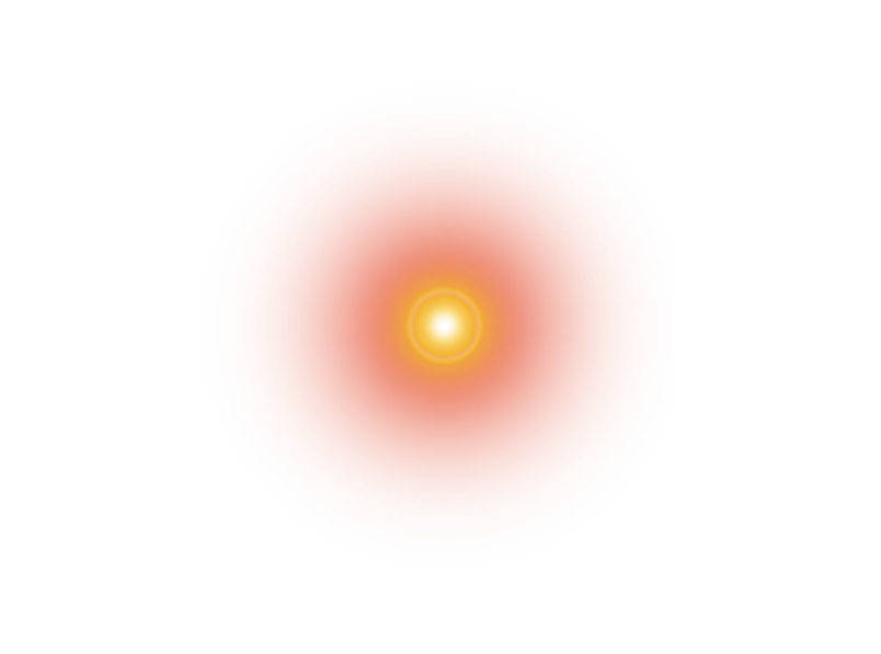 Orange lens flare png. Light camera halo transprent
