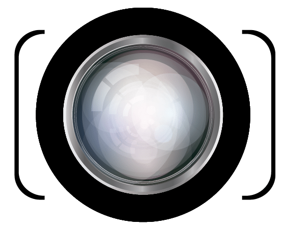 Camera lens logo design png