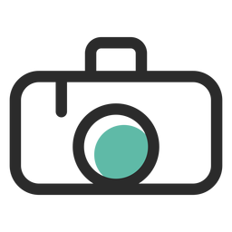Camera png logo. Icon or transparent svg