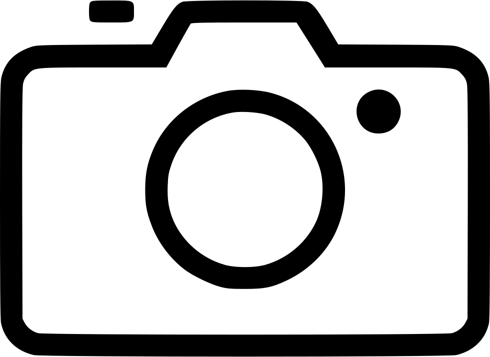 Outline vector camera. Shoot svg png icon