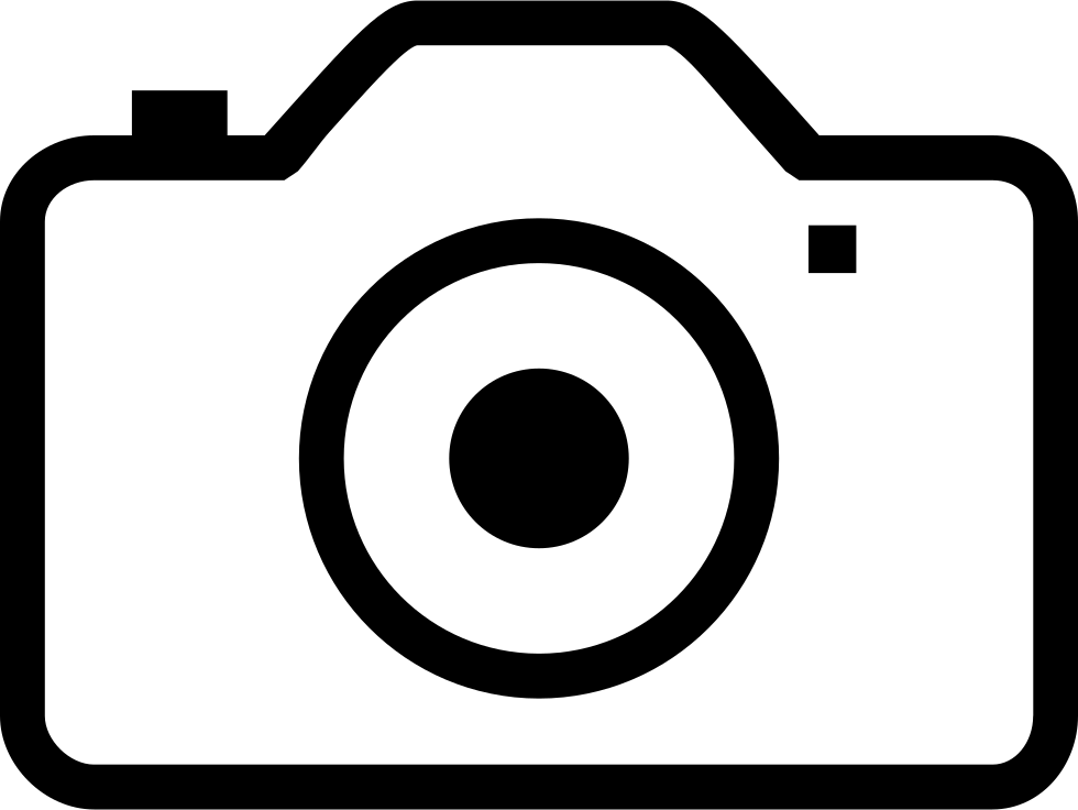Camera outline png. Ios svg icon free