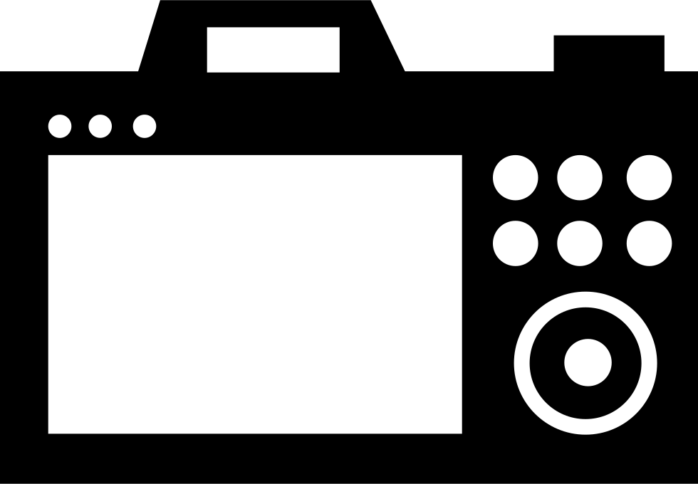 Camera screen png. Svg icon free download