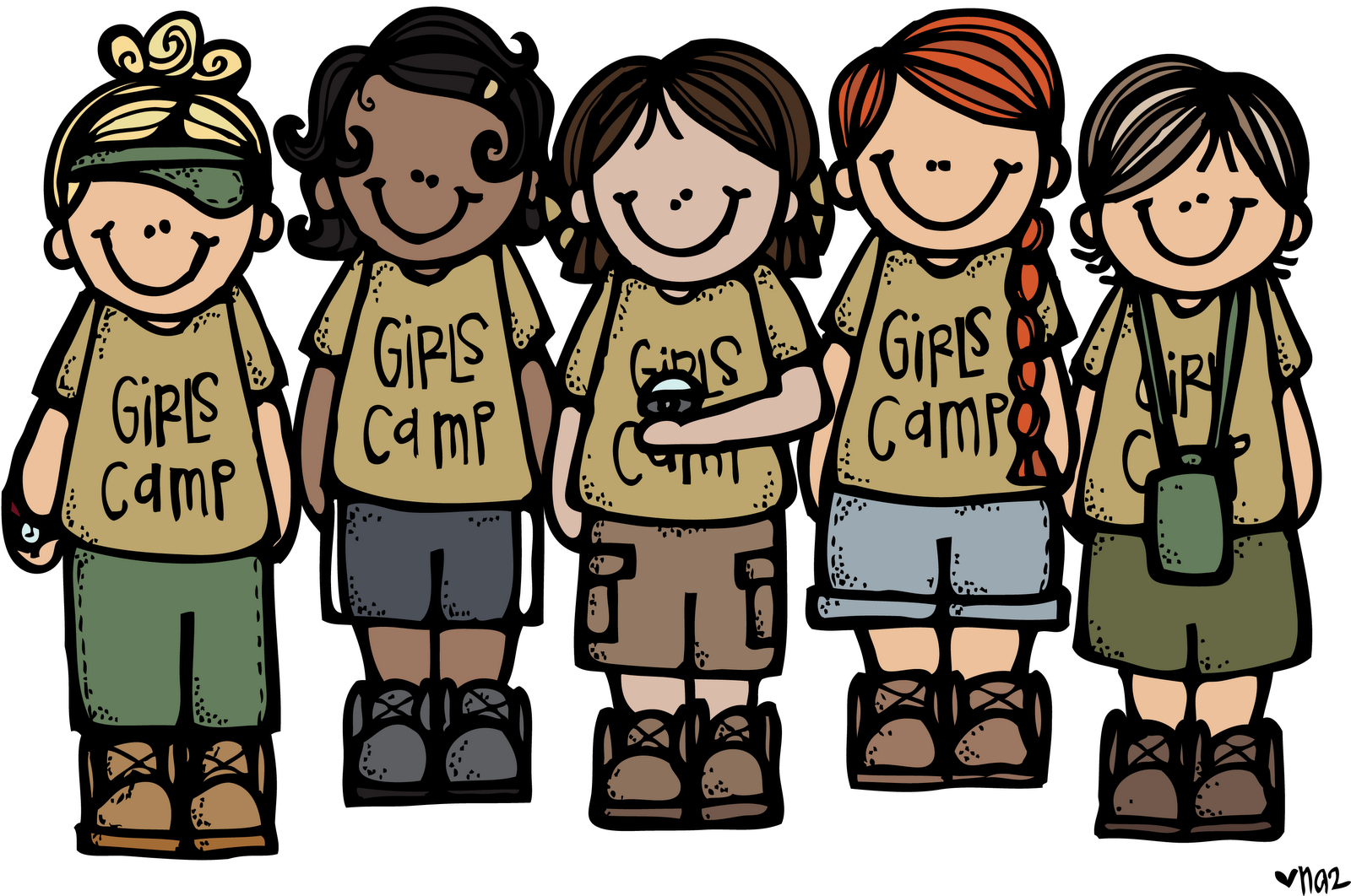 Camp clipart camp director. Girls free