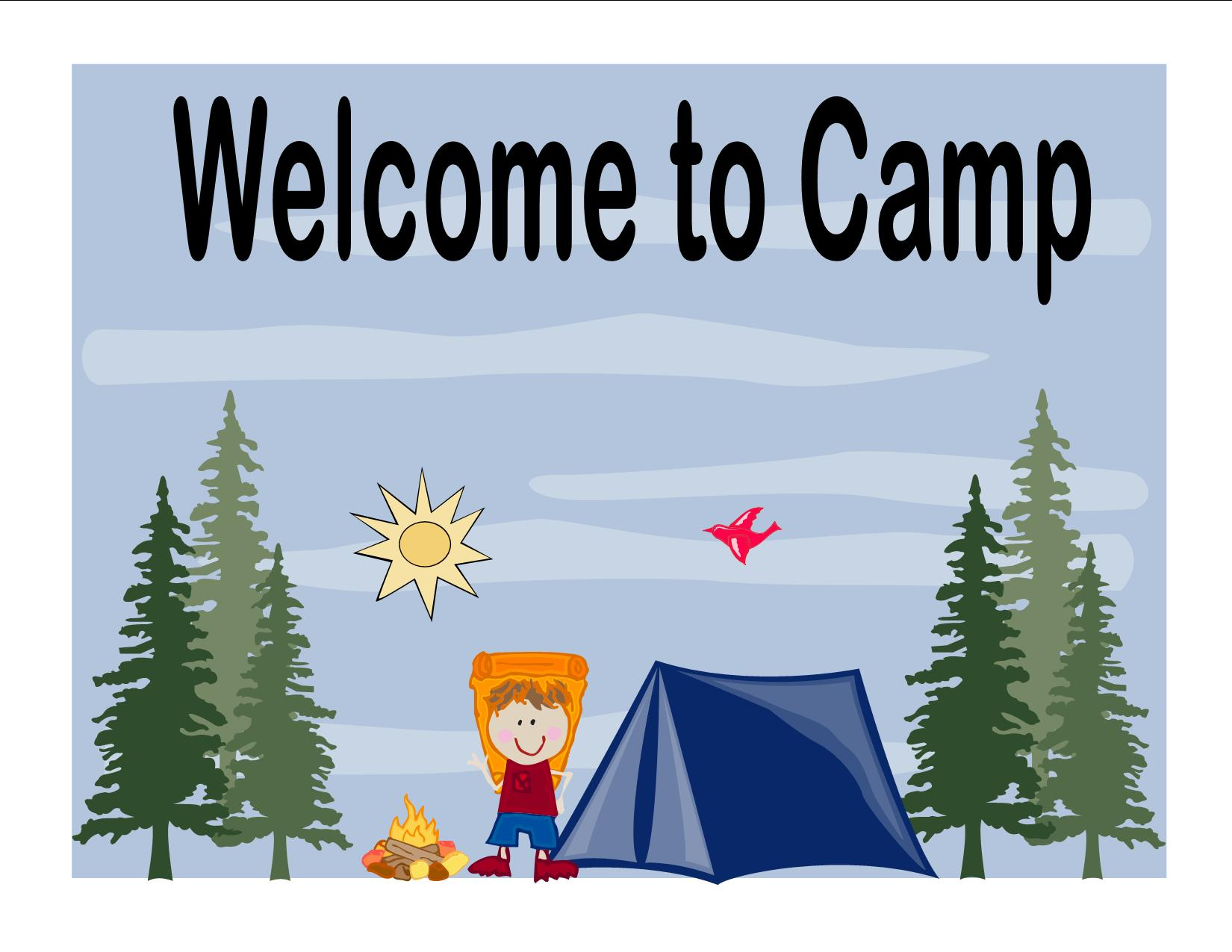 Camp clipart first day. Year at summer archives