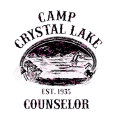 Camp crystal lake png. Counselor l women s