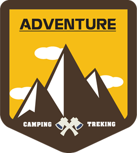 Camp vector campground. Camping logo vectors free