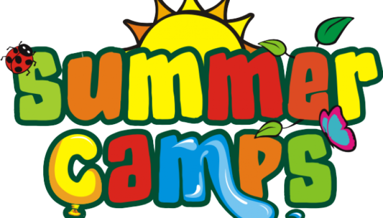 Camp vector youth. Summer border jpg