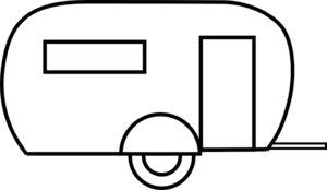 Rv svg vector. Camper clipart for free