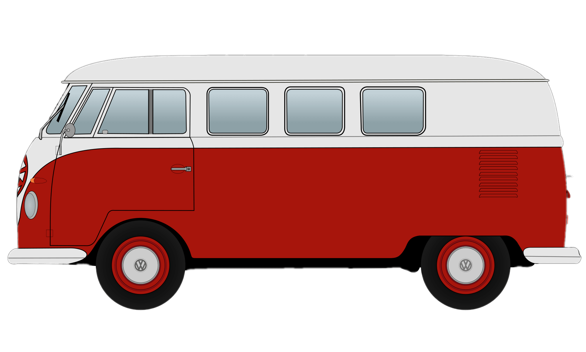Vw bus png