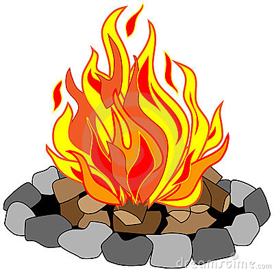 Cartoon . Campfire clipart transparent download