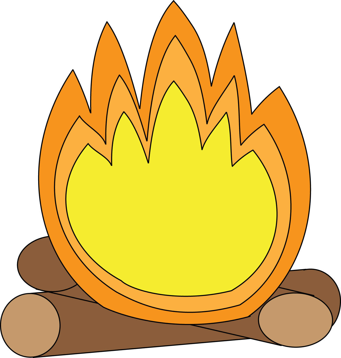 Camp fire smores clip. Campfire clipart svg free download