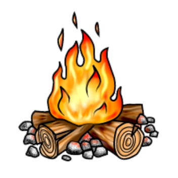 bonfire png transparent bg
