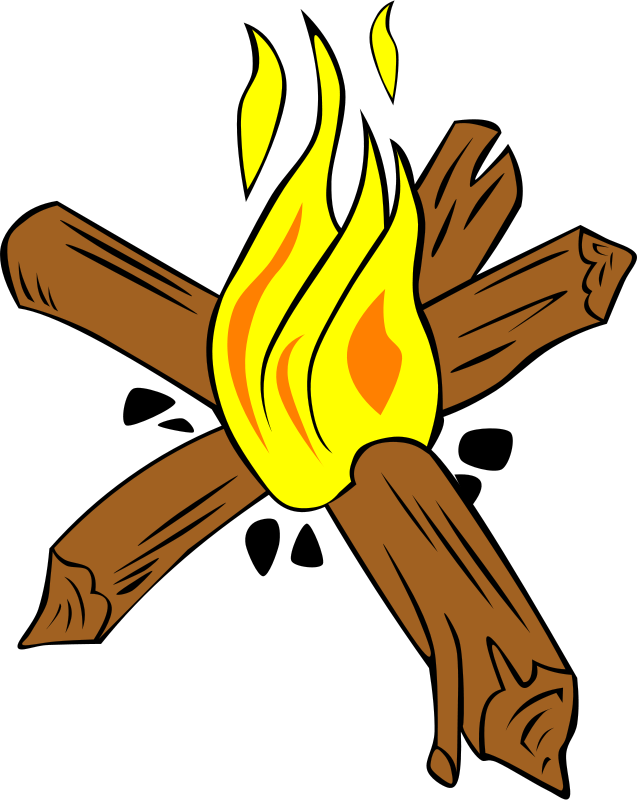Free images download clip. Campfire clipart banner transparent stock
