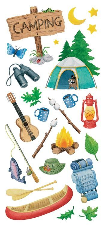 Camping clipart camping essential. Imr pinterest by ohmybeach