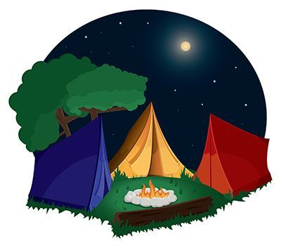 Camping clipart camping essential. Free images girl scout