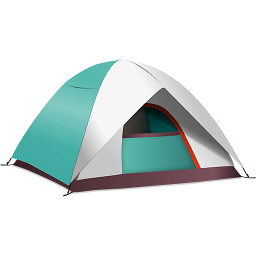 Camping tent png. Image royalty free stock