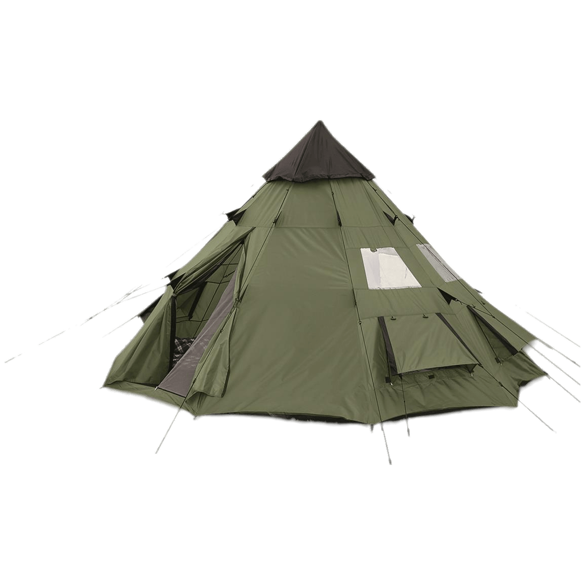 Camping tent png. Teepee transparent stickpng download