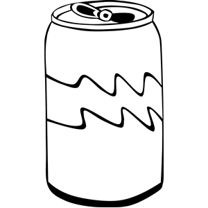 Can clipart pop. Coke product