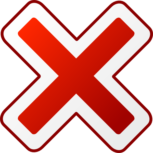 Cancel sign png. Icon clip art at