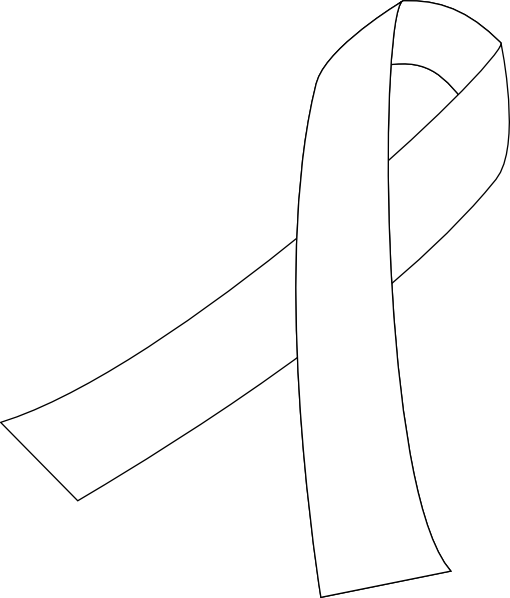 Cancer vector transparent. Ribbon for clip art