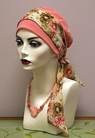 Cancer clipart head scarf. Best inspo adornments