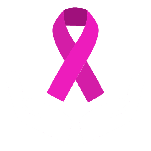 Cancer vector pink day. Hope sign for breast