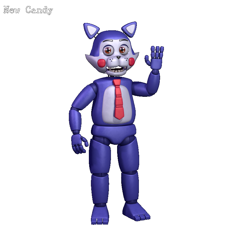 Candies drawing cindy. New candy five nights