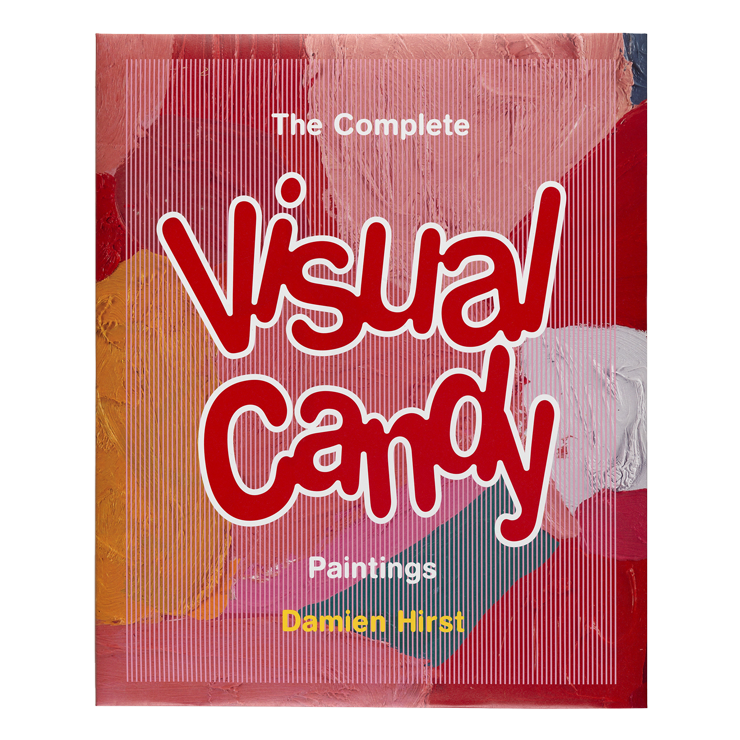 Damien hirst the complete. Candies drawing photorealism vector free stock