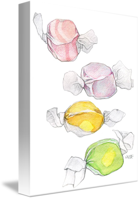 Candies drawing still life. A day november th