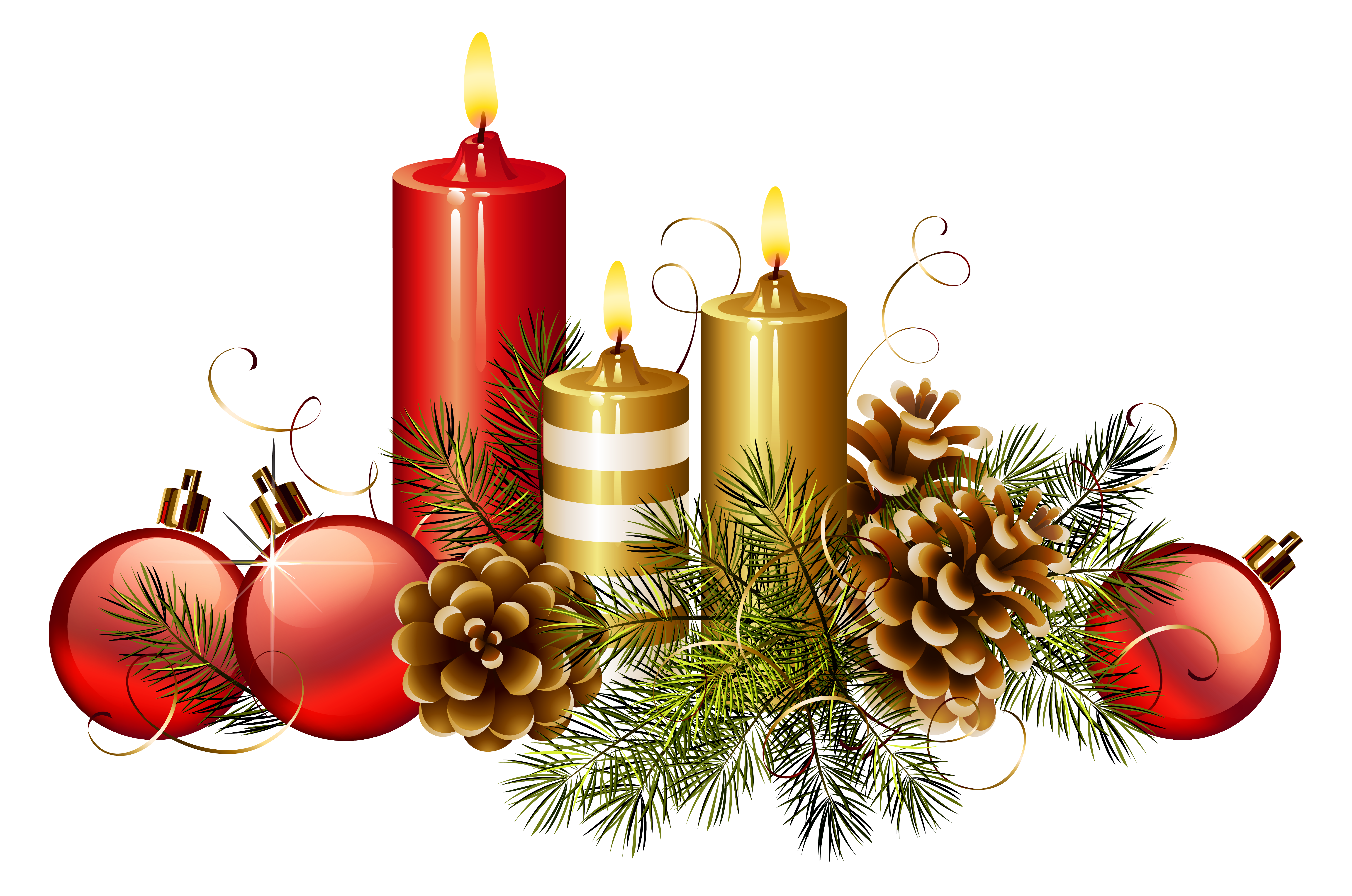 Christmas candle png. Candles clipart image gallery