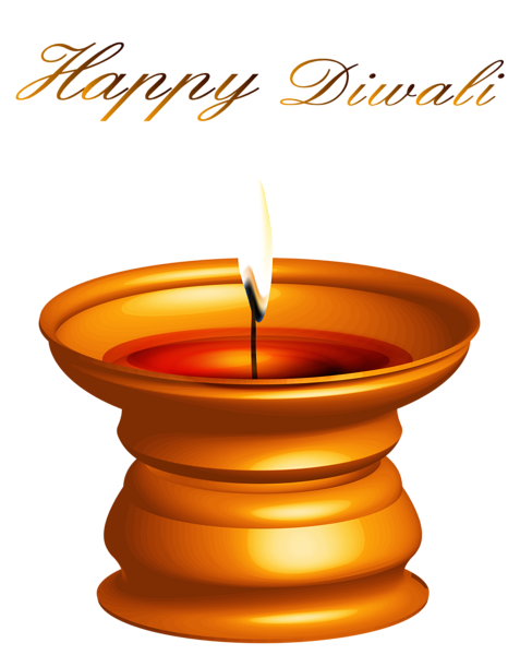 Happy vector diwali. Candle decor png clipart