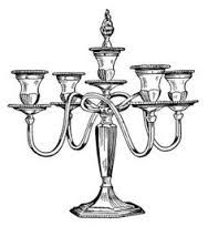 Candle clipart old fashioned. Candelabra clip art free