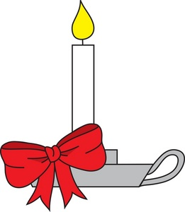 Candle clipart old fashioned. Free image christmas in