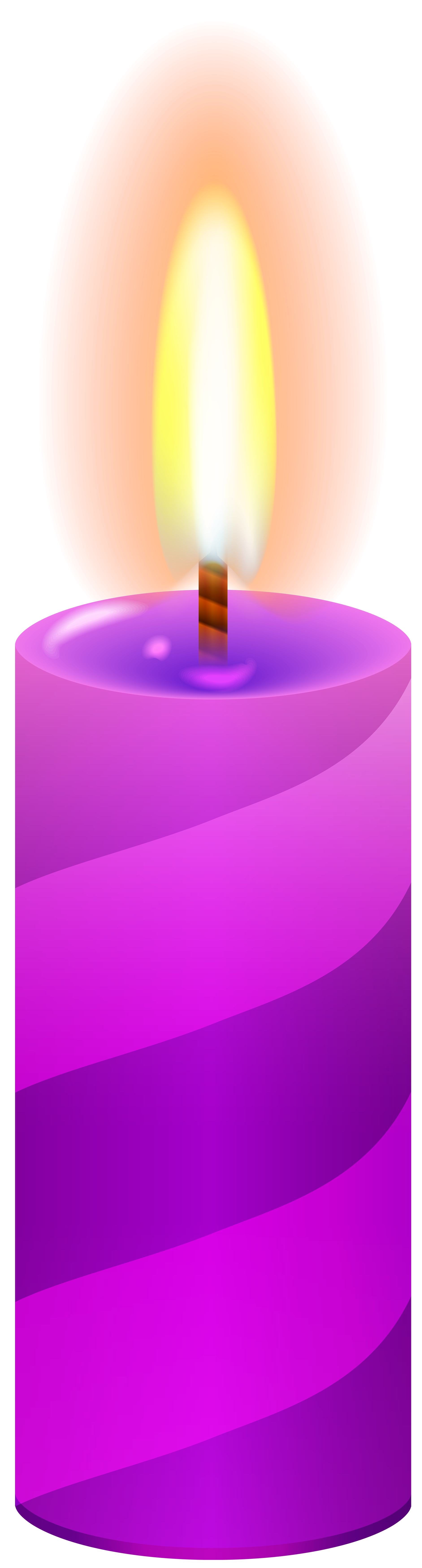 Candles clipart png. Candle purple clip art