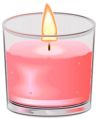 Candles in glass png. Candle cup clip art